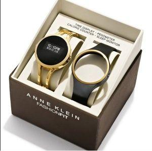 Anne Klein Fashion Fit Fitness Smart Watch